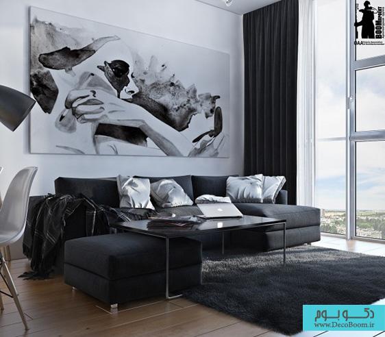 artistic-black-and-white-interior-design-600x525