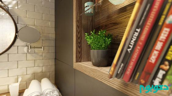 دکوراسیون داخلی آپارتمان، مدرن، دنج، رنگی