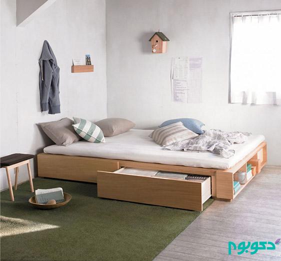 طراحی خلاقانه تخت خواب