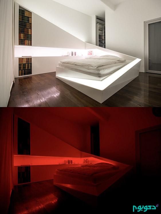 دکوراسیون اتاق خواب،چیدمان اتاق خواب مدرن