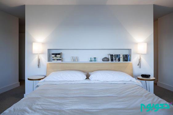 دیوار پشت تخت خواب، فضایی هیجان انگیز!