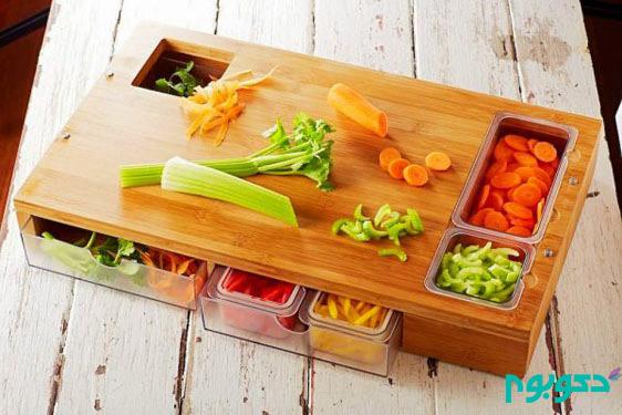 خلاقیتی بی نظیر در طراحی تخته های آشپزخانه دکوراسیون