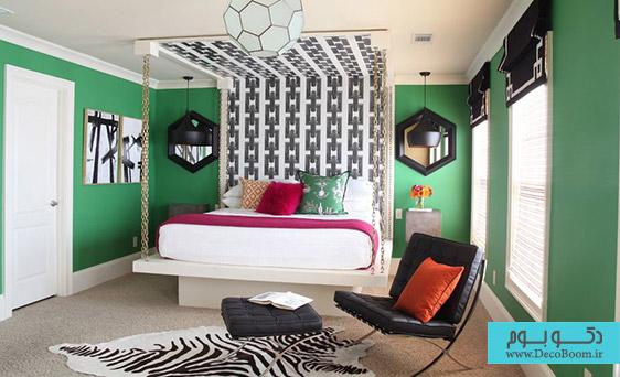 اشکال شش ضلعی در دکوراسیون داخلی منزل