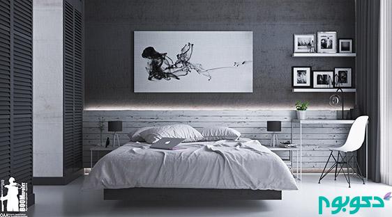black-and-white-classic-bedroom-design