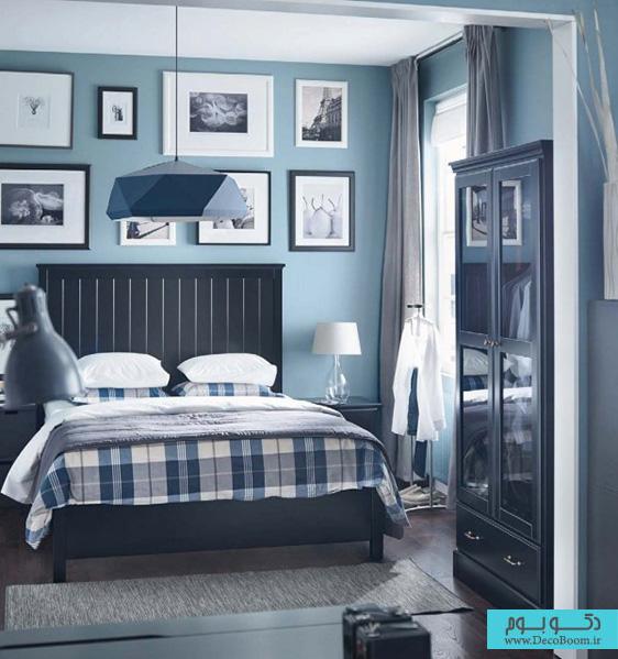 با رنگ های سرد در دکوراسیون داخلی خانه به استقبال زمستان