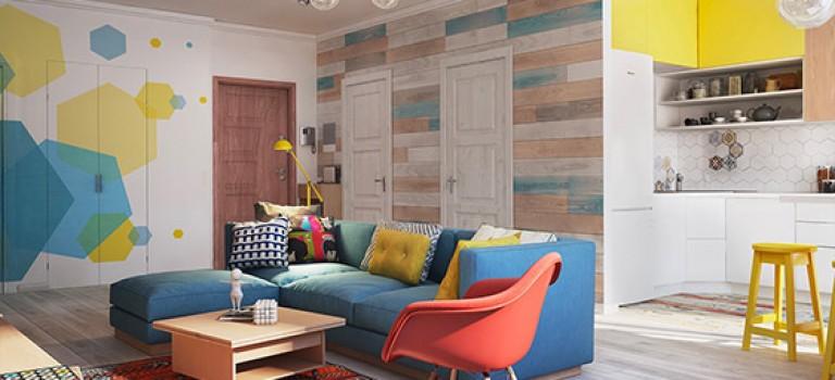 خلاقیت در دکوراسیون داخلی آپارتمان با محدودیت متراژ (قسمت پانزدهم)