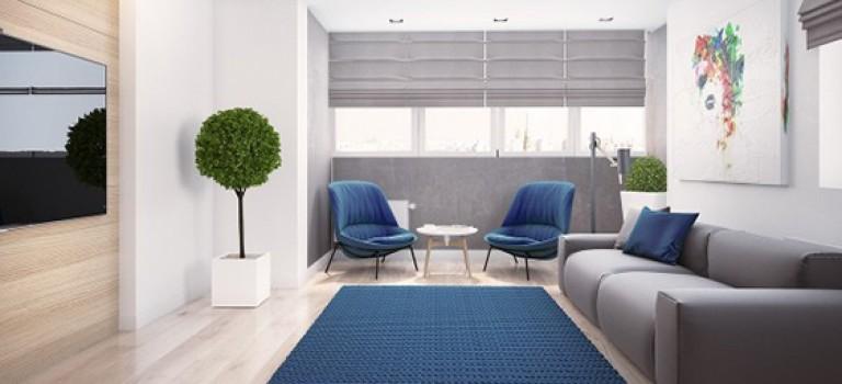 چه رنگی برای خانه من مناسب است؟ آبی