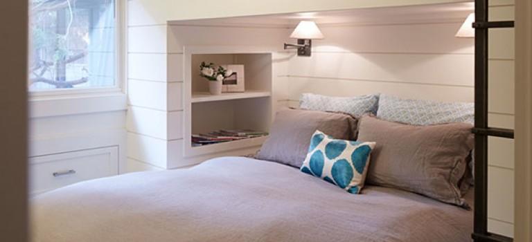 طراحی های متنوع تخت خواب در فضا های کوچک