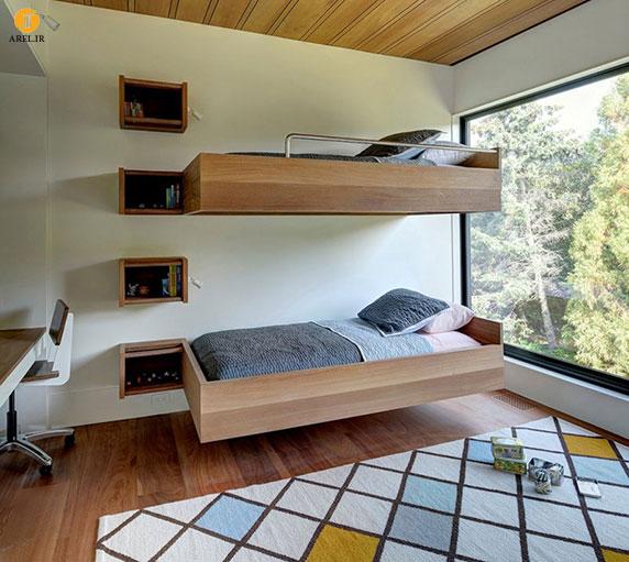 چند ایده برای طراحی تخت خواب های 2 یا چند طبقه