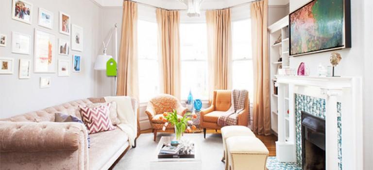 ایده های عالی برای نشیمن کوچک خانه شما