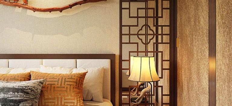 دو فضای مدرن الهام گرفته از دکوراسیون سنتی چینی