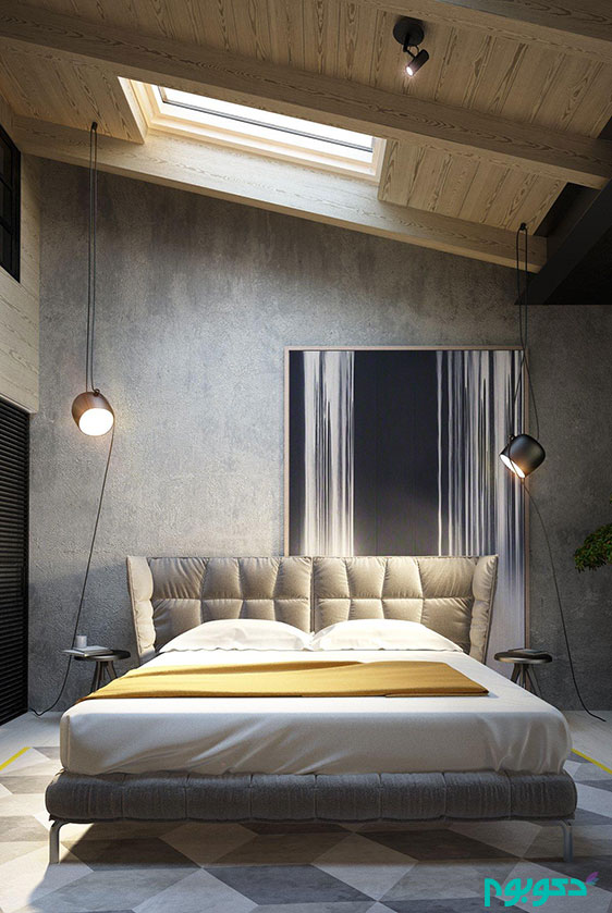دیوارهای بتنی در طراحی داخلی خانه