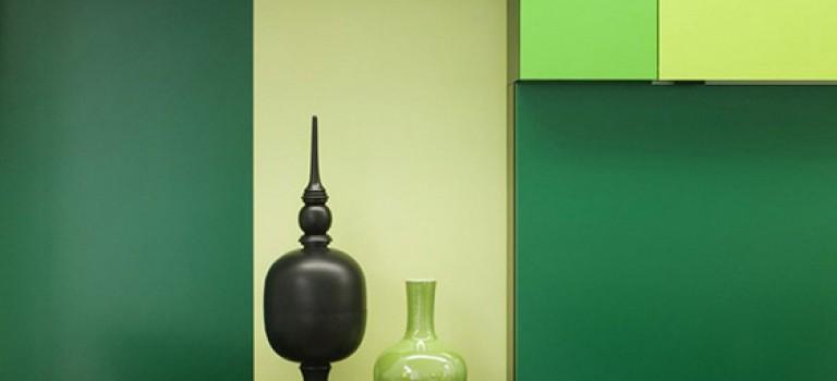 چه رنگی برای خانه من مناسب است؟ سبز