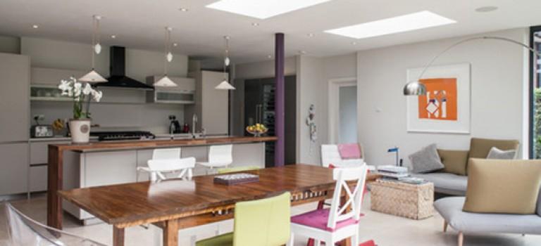 ترکیب رنگ های سرد و گرم در دکوراسیون داخلی فضای مسکونی