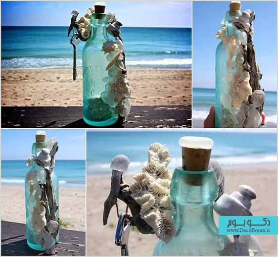 ساخت دکوری با بطری خالی،خلاقیت در ساخت دکور