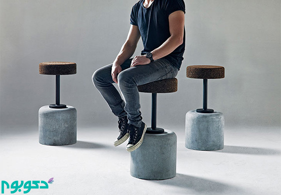 صندلی های خلاقانه در دکوراسیون داخلی