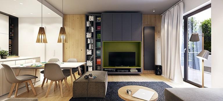 طراحی داخلی خانه مدرن توسط Jan Wadim