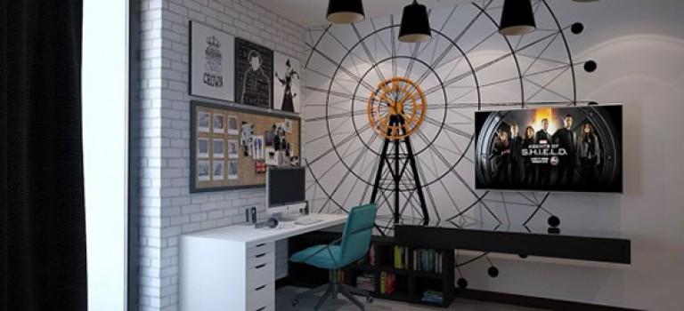خلاقیت در طراحی اتاق نوجوان