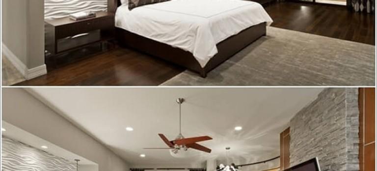تغییر دکوراسیون اتاق خواب با تغییر دکور دیوار