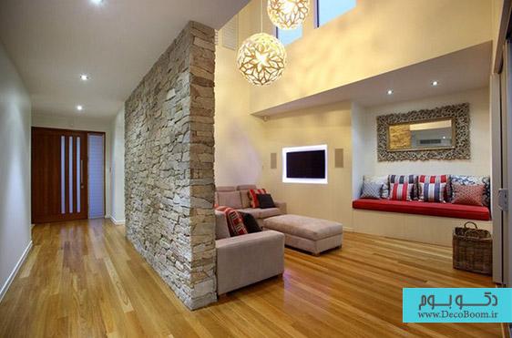 دیوار های سنگی، معماری داخلی خاص