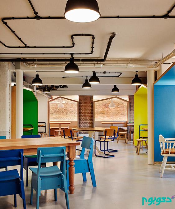 طراحی داخلی هتل در آمستردام