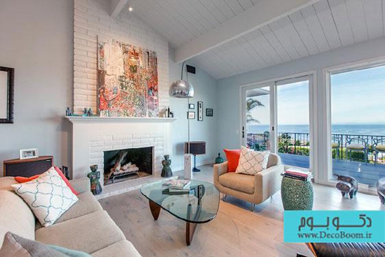 ویلای ساحلی، ترکیبی از کلاسیک و مدرن
