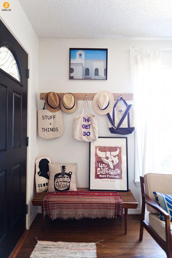 راهکارهایی برای طراحی و دکوراسیون راهروی ورودی کوچک خانه شما