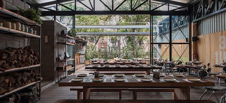 دکوراسیون داخلی رستوران campobaja