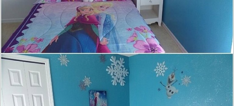 دکوراسیون اتاق خواب تان را Frozen کنید!