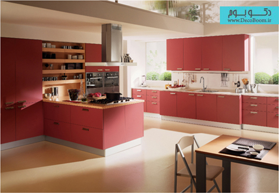 رنگ قرمز در دکوراسیون داخلی خانه