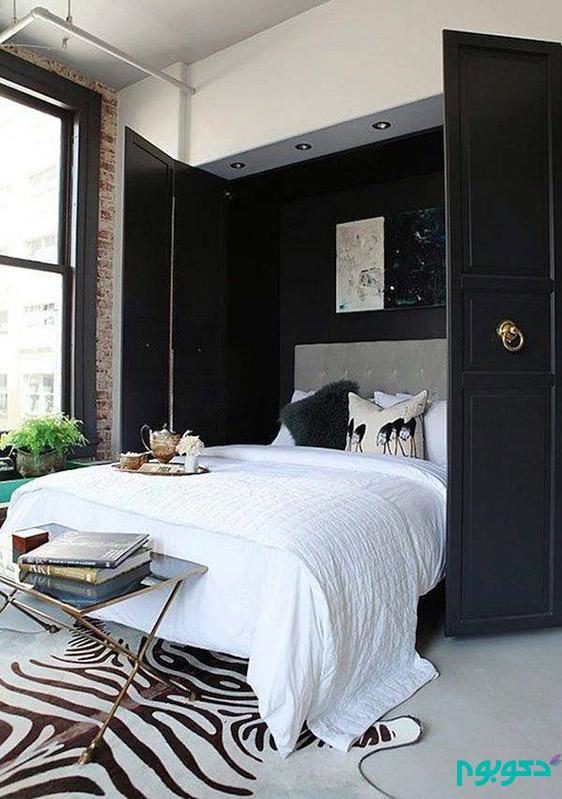 دکوراسیون داخلی اتاق خواب، دکوراسیون تخت خواب