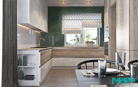 دکوراسیون داخلی منزل و گرمای دیوار های چوبی