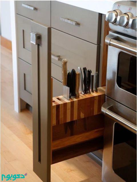 چیدمان وسایل آشپزخانه،دکوراسیون آشپزخانه