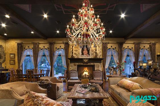 دکوراسیون منزل افراد مشهور: مایکل جکسون