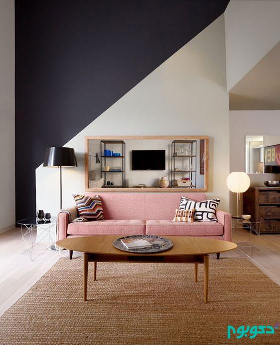 دکوراسیون خانه با اشکال هندسی خیره کننده