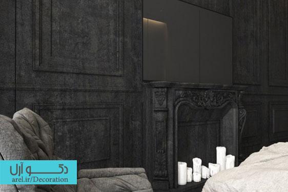 بخش دوم : دکوراسیون داخلی منزل با استفاده از رنگ های تیره و خنثی