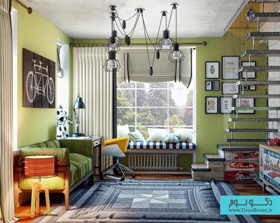 دکوراسیون داخلی اتاق خواب نوجوان (قسمت دوم)