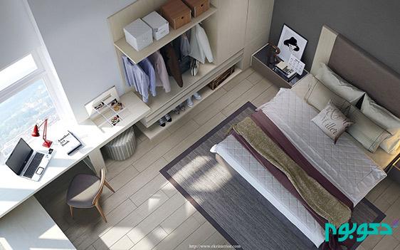 دکوراسیون اتاق خواب و مبلمان مدرن