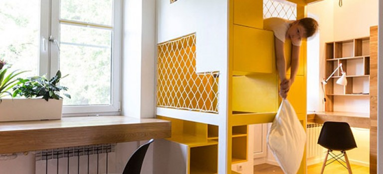 ایده هایی برای دکوراسیون داخلی خانه های کوچک