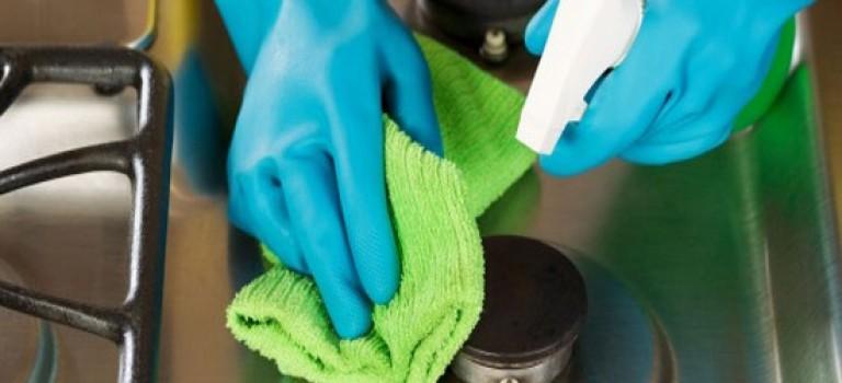 تمیز کردن اجاق گاز با چند ترفند ساده خانگی!!