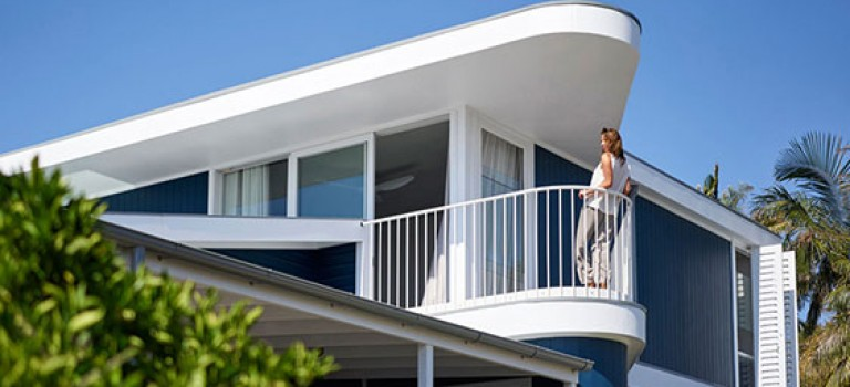 طراحی داخلی ویلای ساحلی در سیدنی