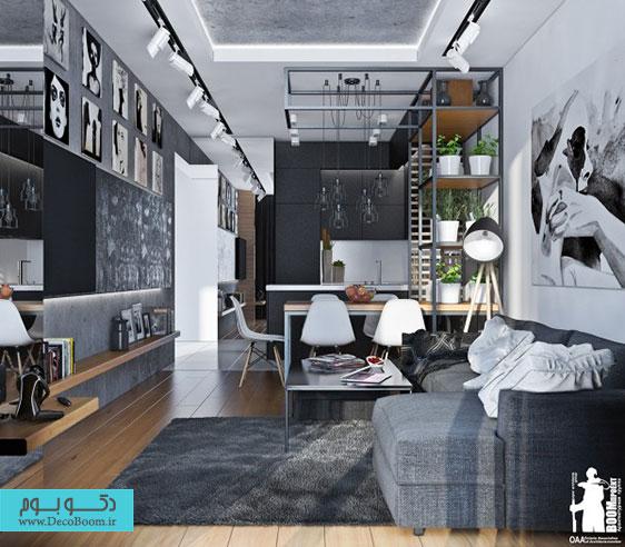 طراحی داخلی خانه مدرن، دکوراسیون داخلی خانه