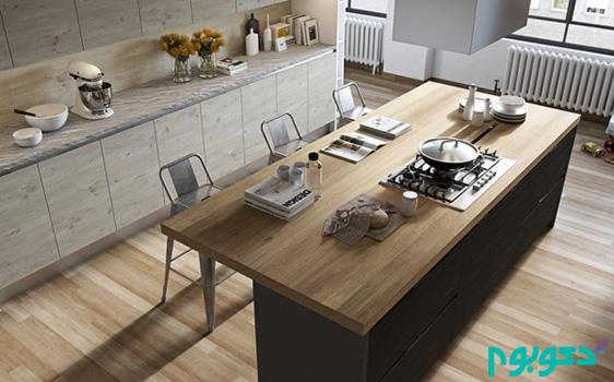 طراحی داخلی کابینت های آشپزخانه