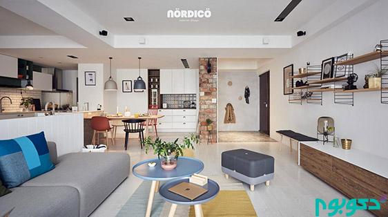 طراحی داخلی به سبک اسکاندیناوی!