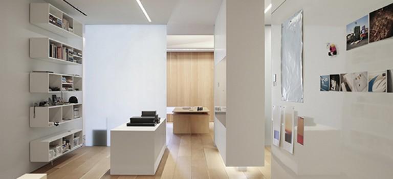 دکوراسیون دفتر کار با نور طبیعی