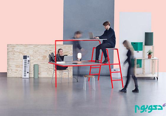خلاقیتی بی نظیر در طراحی مبلمان اداری