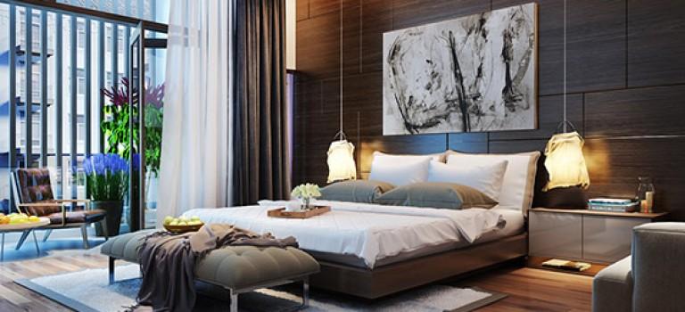 دکوراسیون اتاق خواب: نورپردازی پشت تخت خواب