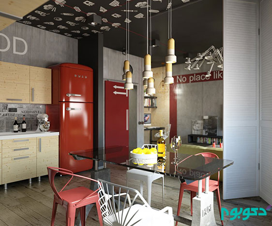 industrial-inspired-red-interior-design-theme
