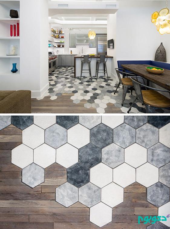 احجام شش ضلعی شگفت انگیز را به خانه بیاورید!