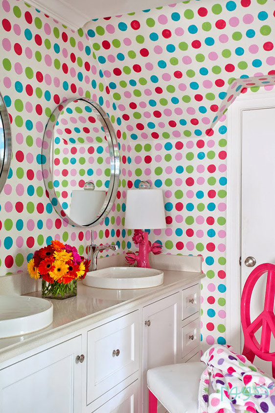 دکوراسیون خانه با رنگ های چالاک و با طراوت